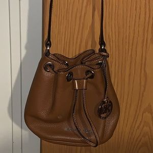 Michael Kors Small Brown (Jules) Leather